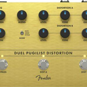 Fender Duel Pugilist Distortion Effect P