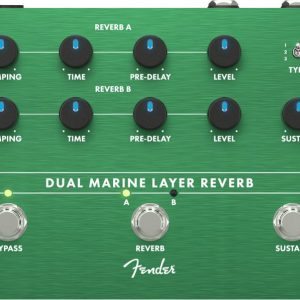 Fender Dual Marine Layer Reverb Effect P