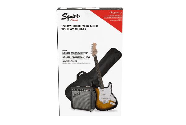 SQUIER Stratocaster® Pack, Laurel Finger