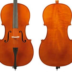Gliga III 4/4 Size Cello OutFit - Antiqu