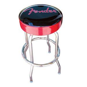"""Fender 24"""" Barstool - Red Sparkle"""