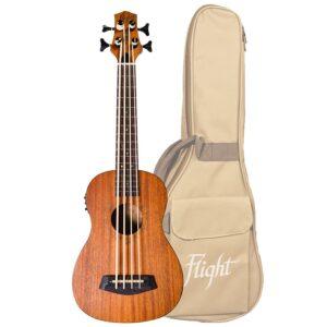 Flight DU-BASS Electro-Acoustic Bass Uku
