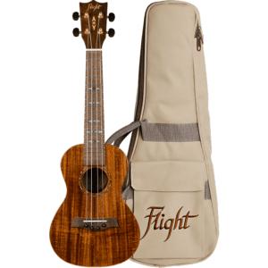 Flight DUC445 Glossy Koa Concert Ukulele