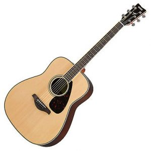 YAMAHA FG830 NATURAL FINISH ACOUSTIC GUI