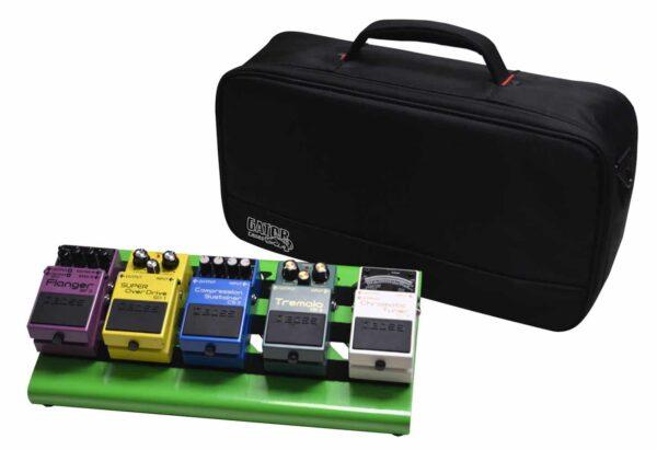 GATOR GPB-LAK-GR Small Pedal Board W/ Ca