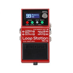 BOSS RC5 LOOP STATION EFFECT PEDAL