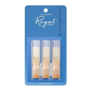 Rico Royal Bb Clarinet Reeds #3 (3 Pack)