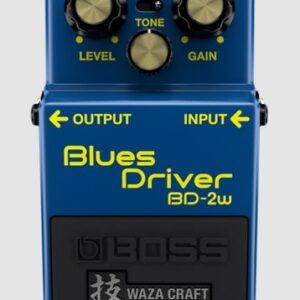 BOSS BD2W WAZA CRAFT BLUES DRIVER EFFECT