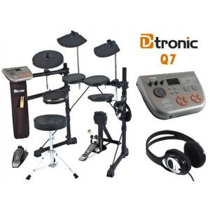 D-tronic EDQ7 Electronic Drum Kit with S