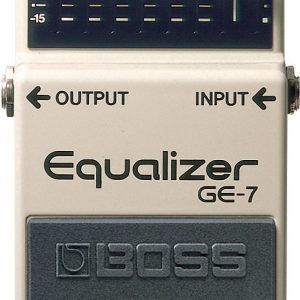 BOSS GE7 EQUILIZER GUITAR PEDAL