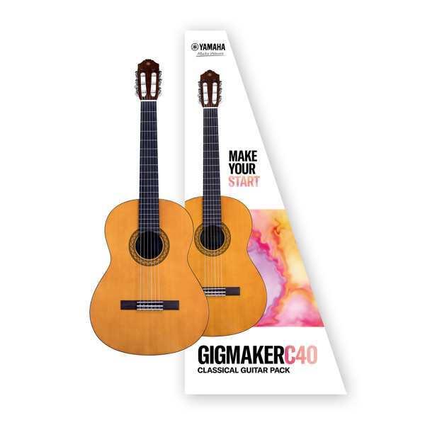 Yamaha C40 Gig Maker Guitar Pack