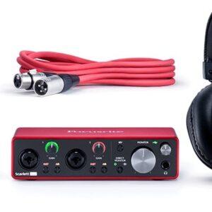 Focusrite Scarlett 2I2 Studio Gen 3 USB