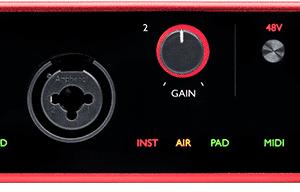 Focusrite Scarlett 4I4 Gen 3 USB Audio I
