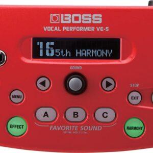 BOSS VE5R VOCAL PERFORMER EFFECT UNIT